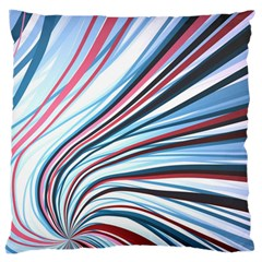 Wavy Stripes Background Standard Flano Cushion Case (Two Sides)