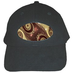 Space Fractal Abstraction Digital Computer Graphic Black Cap