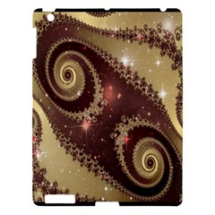 Space Fractal Abstraction Digital Computer Graphic Apple iPad 3/4 Hardshell Case