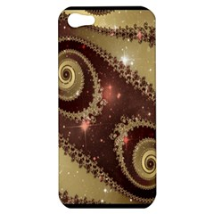 Space Fractal Abstraction Digital Computer Graphic Apple iPhone 5 Hardshell Case