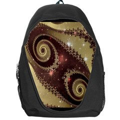 Space Fractal Abstraction Digital Computer Graphic Backpack Bag