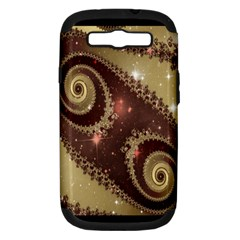 Space Fractal Abstraction Digital Computer Graphic Samsung Galaxy S III Hardshell Case (PC+Silicone)