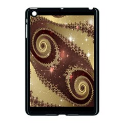 Space Fractal Abstraction Digital Computer Graphic Apple iPad Mini Case (Black)
