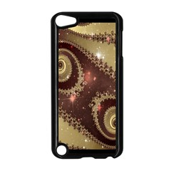 Space Fractal Abstraction Digital Computer Graphic Apple iPod Touch 5 Case (Black)