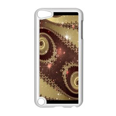 Space Fractal Abstraction Digital Computer Graphic Apple iPod Touch 5 Case (White)