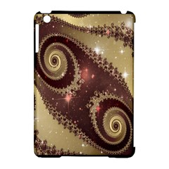 Space Fractal Abstraction Digital Computer Graphic Apple iPad Mini Hardshell Case (Compatible with Smart Cover)