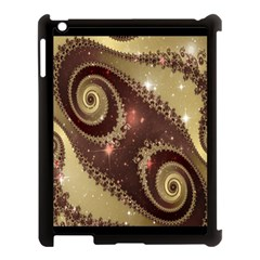 Space Fractal Abstraction Digital Computer Graphic Apple Ipad 3/4 Case (black)