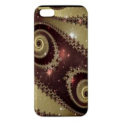 Space Fractal Abstraction Digital Computer Graphic Apple iPhone 5 Premium Hardshell Case