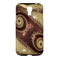 Space Fractal Abstraction Digital Computer Graphic Samsung Galaxy S4 I9500/I9505 Hardshell Case