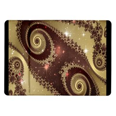 Space Fractal Abstraction Digital Computer Graphic Samsung Galaxy Tab 10 1  P7500 Flip Case