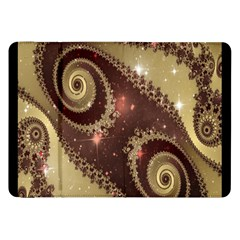Space Fractal Abstraction Digital Computer Graphic Samsung Galaxy Tab 8.9  P7300 Flip Case