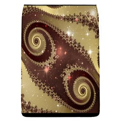 Space Fractal Abstraction Digital Computer Graphic Flap Covers (S)
