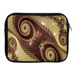 Space Fractal Abstraction Digital Computer Graphic Apple iPad 2/3/4 Zipper Cases