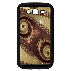 Space Fractal Abstraction Digital Computer Graphic Samsung Galaxy Grand Duos I9082 Case (black)