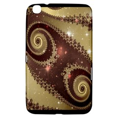 Space Fractal Abstraction Digital Computer Graphic Samsung Galaxy Tab 3 (8 ) T3100 Hardshell Case
