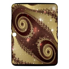 Space Fractal Abstraction Digital Computer Graphic Samsung Galaxy Tab 3 (10 1 ) P5200 Hardshell Case