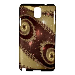 Space Fractal Abstraction Digital Computer Graphic Samsung Galaxy Note 3 N9005 Hardshell Case