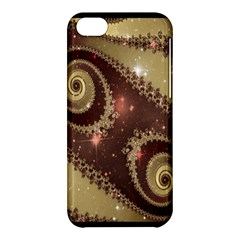 Space Fractal Abstraction Digital Computer Graphic Apple iPhone 5C Hardshell Case