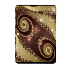Space Fractal Abstraction Digital Computer Graphic Samsung Galaxy Tab 2 (10.1 ) P5100 Hardshell Case