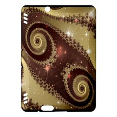 Space Fractal Abstraction Digital Computer Graphic Kindle Fire HDX Hardshell Case