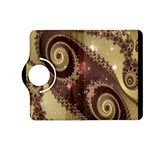 Space Fractal Abstraction Digital Computer Graphic Kindle Fire HD (2013) Flip 360 Case Front