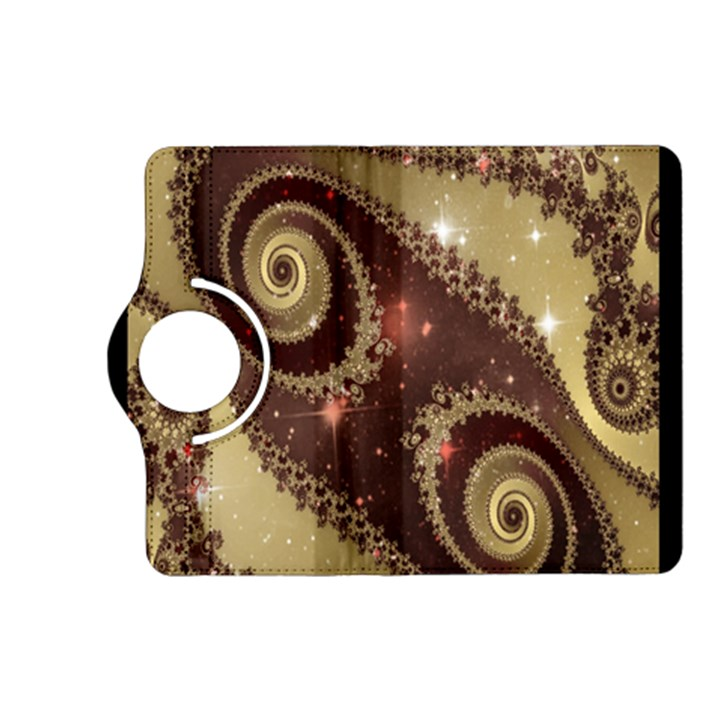 Space Fractal Abstraction Digital Computer Graphic Kindle Fire HD (2013) Flip 360 Case