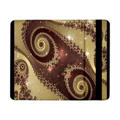 Space Fractal Abstraction Digital Computer Graphic Samsung Galaxy Tab Pro 8 4  Flip Case