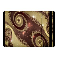 Space Fractal Abstraction Digital Computer Graphic Samsung Galaxy Tab Pro 10 1  Flip Case