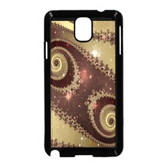 Space Fractal Abstraction Digital Computer Graphic Samsung Galaxy Note 3 Neo Hardshell Case (Black)