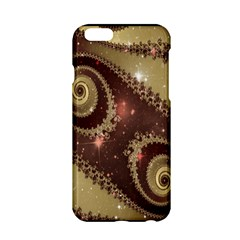 Space Fractal Abstraction Digital Computer Graphic Apple iPhone 6/6S Hardshell Case