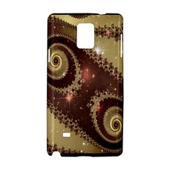 Space Fractal Abstraction Digital Computer Graphic Samsung Galaxy Note 4 Hardshell Case