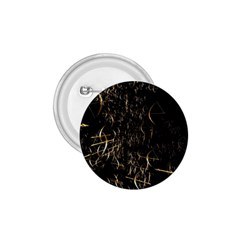 Golden Bows And Arrows On Black 1.75  Buttons