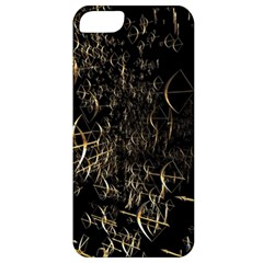 Golden Bows And Arrows On Black Apple iPhone 5 Classic Hardshell Case