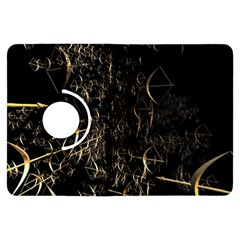 Golden Bows And Arrows On Black Kindle Fire HDX Flip 360 Case