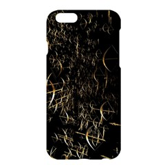 Golden Bows And Arrows On Black Apple iPhone 6 Plus/6S Plus Hardshell Case