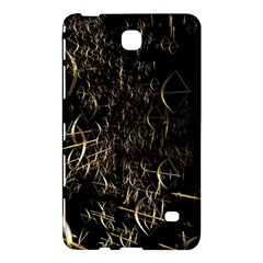 Golden Bows And Arrows On Black Samsung Galaxy Tab 4 (8 ) Hardshell Case