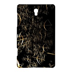 Golden Bows And Arrows On Black Samsung Galaxy Tab S (8.4 ) Hardshell Case