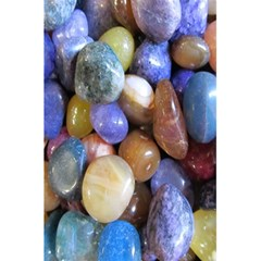Rock Tumbler Used To Polish A Collection Of Small Colorful Pebbles 5 5  X 8 5  Notebooks