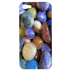 Rock Tumbler Used To Polish A Collection Of Small Colorful Pebbles Apple iPhone 5 Hardshell Case