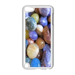 Rock Tumbler Used To Polish A Collection Of Small Colorful Pebbles Apple iPod Touch 5 Case (White)
