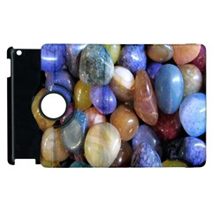 Rock Tumbler Used To Polish A Collection Of Small Colorful Pebbles Apple iPad 2 Flip 360 Case