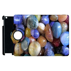 Rock Tumbler Used To Polish A Collection Of Small Colorful Pebbles Apple iPad 3/4 Flip 360 Case