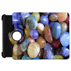 Rock Tumbler Used To Polish A Collection Of Small Colorful Pebbles Kindle Fire HD 7