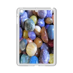 Rock Tumbler Used To Polish A Collection Of Small Colorful Pebbles iPad Mini 2 Enamel Coated Cases