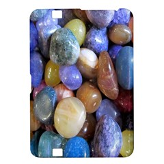 Rock Tumbler Used To Polish A Collection Of Small Colorful Pebbles Kindle Fire HD 8.9