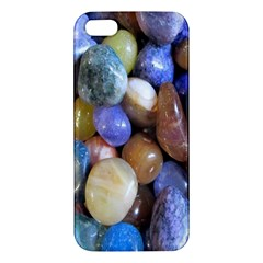 Rock Tumbler Used To Polish A Collection Of Small Colorful Pebbles Apple iPhone 5 Premium Hardshell Case