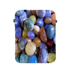 Rock Tumbler Used To Polish A Collection Of Small Colorful Pebbles Apple iPad 2/3/4 Protective Soft Cases