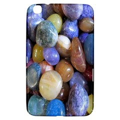 Rock Tumbler Used To Polish A Collection Of Small Colorful Pebbles Samsung Galaxy Tab 3 (8 ) T3100 Hardshell Case