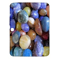 Rock Tumbler Used To Polish A Collection Of Small Colorful Pebbles Samsung Galaxy Tab 3 (10.1 ) P5200 Hardshell Case