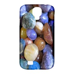 Rock Tumbler Used To Polish A Collection Of Small Colorful Pebbles Samsung Galaxy S4 Classic Hardshell Case (PC+Silicone)